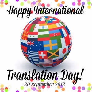September 30? International Translation Day!