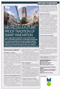 Mechelen Morgen - Advertorial FDI Financial Times
