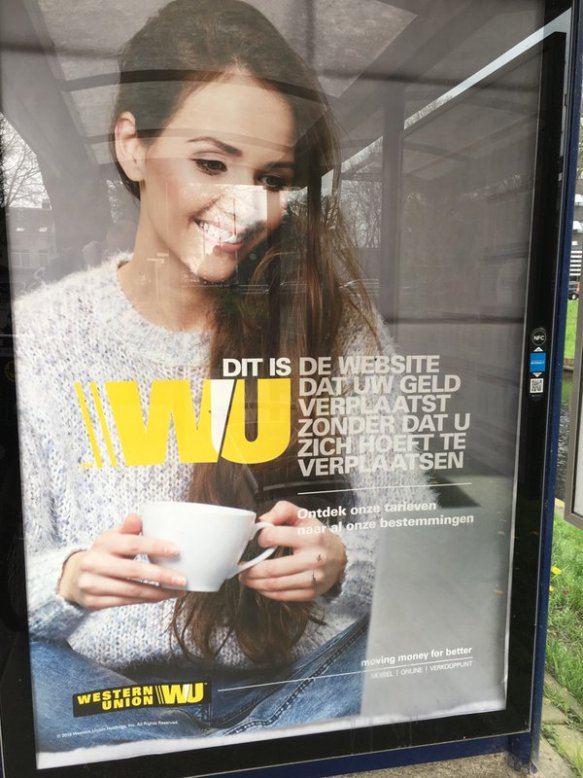 De nieuwe campagne van Western Union