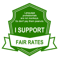 De Woordenwerf supports fair rates for language professionals